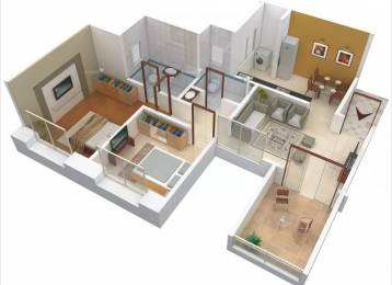 928 sqft, 2 bhk Apartment in GK Atlanta Wakad, Pune at Rs. 74.0000 Lacs