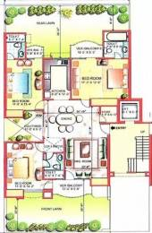 1600 sqft, 3 bhk Apartment in Eldeco Green Meadows PI, Greater Noida at Rs. 65.0000 Lacs