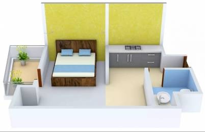 529 sqft, 1 bhk Apartment in Stellar MI Citihomes Omicron, Greater Noida at Rs. 7000