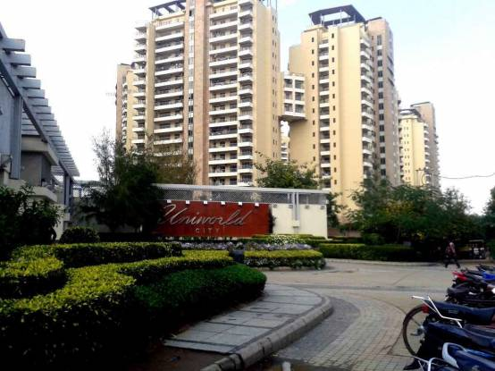 2368 sqft, 3 bhk Apartment in Unitech Uniworld City South Sector 30, Gurgaon at Rs. 55000