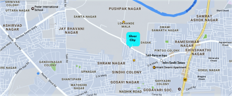 2472 sqft, Plot in Builder silver city reliable Dasak, Nashik at Rs. 60.0000 Lacs
