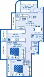 1185 sqft, 2 bhk Apartment in Kamanwala Manavsthal Malad West, Mumbai at Rs. 1.2500 Cr