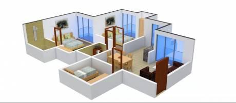 1135 sqft, 2 bhk Apartment in Prateek Wisteria Sector 77, Noida at Rs. 16000