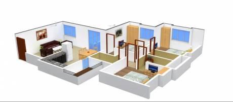 1465 sqft, 3 bhk Apartment in Kanchan Onyx Undri, Pune at Rs. 70.0000 Lacs