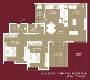 1156 sqft, 2 bhk Apartment in Kanchan Onyx Undri, Pune at Rs. 42.0000 Lacs