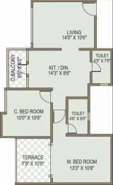 948 sqft, 2 bhk Apartment in ACME Selene Apartment Undri, Pune at Rs. 41.0000 Lacs