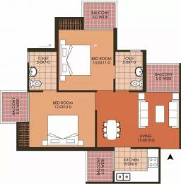 930 sqft, 2 bhk Apartment in Patel Neo Town Techzone 4, Greater Noida at Rs. 29.0000 Lacs