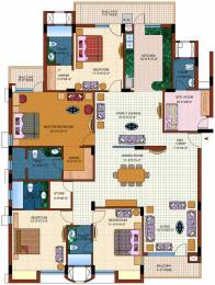 2890 sqft, 5 bhk Apartment in Purvanchal Royal Park Sector 137, Noida at Rs. 1.8000 Cr