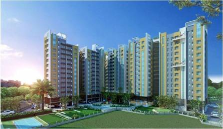 1229 sqft, 3 bhk Apartment in Space Group and Dhoot Group Aurum Apartment B T Road, Kolkata at Rs. 56.0000 Lacs