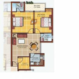 1195 sqft, 2 bhk Apartment in Omaxe New Heights Sector 78, Faridabad at Rs. 38.5000 Lacs