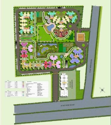 1250 sqft, 2 bhk Apartment in Charms Castle Raj Nagar Extension, Ghaziabad at Rs. 37.1000 Lacs