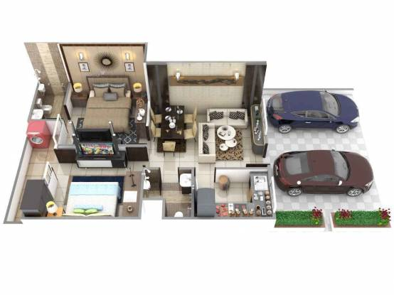 805 sqft, 2 bhk Apartment in Builder Project Kolar Road, Bhopal at Rs. 18.0000 Lacs