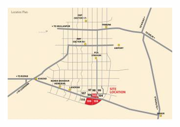 1800 sqft, Plot in Emaar MGF Developers Bungalows Sector 109 Mohali, Mohali at Rs. 38.0000 Lacs