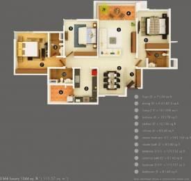 1720 sqft, 3 bhk Apartment in Kasturi Eon Homes Hinjewadi, Pune at Rs. 1.1542 Cr