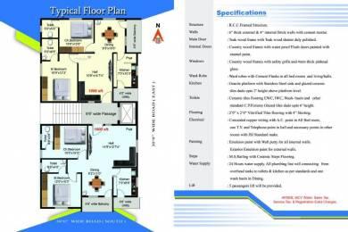 1000 sqft, 2 bhk Apartment in Builder Sri sai Hills PMPalem, Visakhapatnam at Rs. 26.0000 Lacs