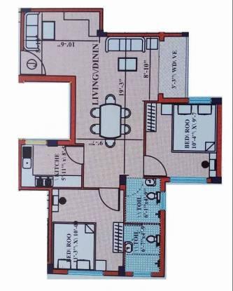 1003 sqft, 2 bhk Apartment in Builder cv enclave Rajpur, Kolkata at Rs. 28.3900 Lacs