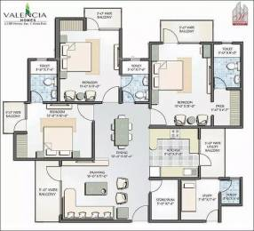 1790 sqft, 3 bhk Apartment in Hawelia Valencia Homes Sector 1 Noida Extension, Greater Noida at Rs. 62.6100 Lacs