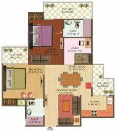 1175 sqft, 2 bhk Apartment in Galaxy North Avenue II Sector 16C Noida Extension, Greater Noida at Rs. 37.0000 Lacs