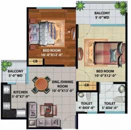 755 sqft, 2 bhk Apartment in Devika Skypers Raj Nagar Extension, Ghaziabad at Rs. 21.5000 Lacs