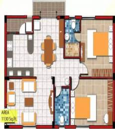 1130 sqft, 2 bhk Apartment in Nagamani Sai Sunshine Marathahalli, Bangalore at Rs. 54.0000 Lacs