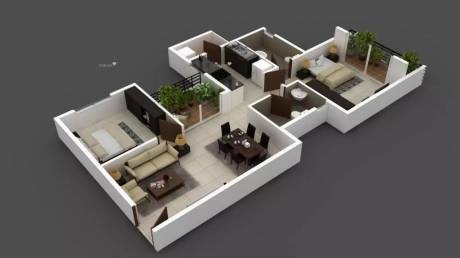 1050 sqft, 2 bhk Apartment in Provident Northern Destiny Kannur on Thanisandra Main Road, Bangalore at Rs. 59.0000 Lacs