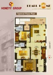 2200 sqft, 3 bhk Apartment in Builder Project Seethammadhara, Visakhapatnam at Rs. 1.3200 Cr