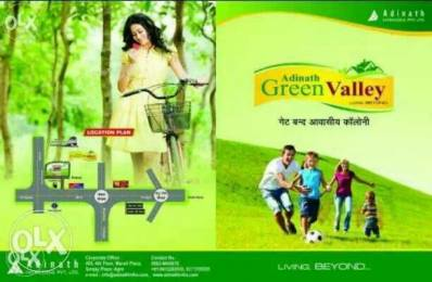 900 sqft, Plot in Builder Adinath green valley Rohta, Agra at Rs. 6.0000 Lacs