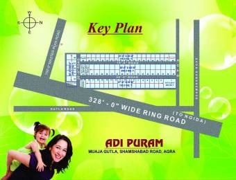 1080 sqft, Plot in Builder adipuram colony GutilaGangroa Road, Agra at Rs. 7.8000 Lacs
