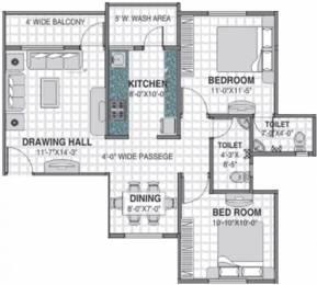 1105 sqft, 2 bhk Apartment in Barde Shiv Residency 3 Anant Nagar, Nagpur at Rs. 35.0000 Lacs