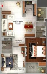 1185 sqft, 2 bhk Apartment in Tulsiani Luvnest Vrindavan Yojna, Lucknow at Rs. 40.0000 Lacs