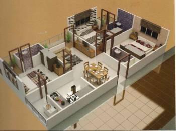 1250 sqft, 3 bhk Apartment in Builder Shrijee Heights Apartment Bicholi Mardana Road, Indore at Rs. 26.9000 Lacs
