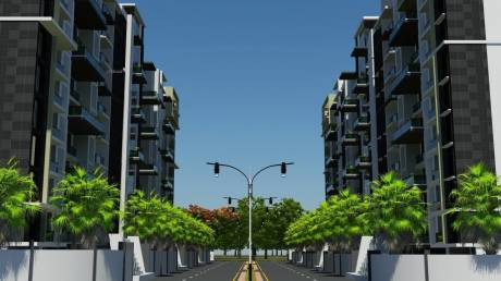1930 sqft, 3 bhk Apartment in Builder wallfort sapphire Sarona, Raipur at Rs. 48.2500 Lacs