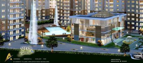 1085 sqft, 2 bhk Apartment in Ahad Euphoria Sarjapur Road Post Railway Crossing, Bangalore at Rs. 55.0000 Lacs