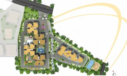 1287 sqft, 2 bhk Apartment in Salarpuria Sattva Sattva Senorita Sarjapur  Road, Bangalore at Rs. 87.0000 Lacs