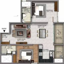1206 sqft, 2 bhk Apartment in Century Infiniti Junnasandra, Bangalore at Rs. 70.0000 Lacs