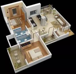 1075 sqft, 2 bhk Apartment in Omega Paradise Wakad, Pune at Rs. 16500
