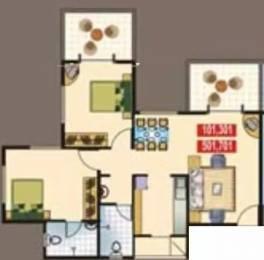 900 sqft, 2 bhk Apartment in Vasant Avenue Pimple Saudagar, Pune at Rs. 17000