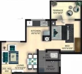 545 sqft, 1 bhk Apartment in Goel Gyanganga Rahatani, Pune at Rs. 13000