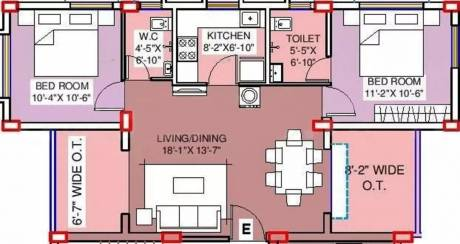 1088 sqft, 2 bhk Apartment in Swastic Fern Ballygunge, Kolkata at Rs. 1.0336 Cr
