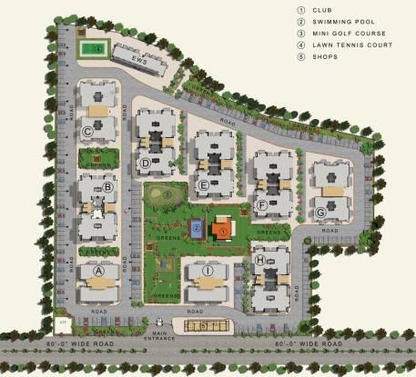 1310 sqft, 2 bhk Apartment in Sushma Crescent Dhakoli, Zirakpur at Rs. 41.9200 Lacs
