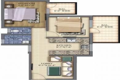 551 sqft, 2 bhk Apartment in Pareena Laxmi Apartments Sector 99A, Gurgaon at Rs. 17.5000 Lacs