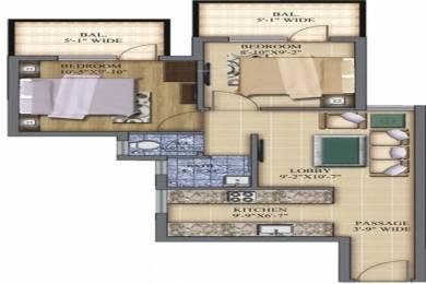 588 sqft, 2 bhk Apartment in Pareena Laxmi Apartments Sector 99A, Gurgaon at Rs. 18.6500 Lacs