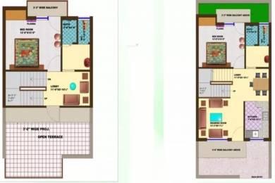 1350 sqft, 2 bhk Villa in Omaxe My Home Sector 36 Bhiwadi, Bhiwadi at Rs. 30.5000 Lacs