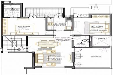 881 sqft, 2 bhk Apartment in Vatika Primrose Floors Sector 82, Gurgaon at Rs. 62.0000 Lacs