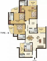 2077 sqft, 3 bhk Apartment in Spaze Privy Sector 72, Gurgaon at Rs. 1.0500 Cr
