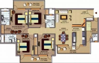 2193 sqft, 4 bhk Apartment in CHD Avenue 71 Sector 71, Gurgaon at Rs. 1.1000 Cr
