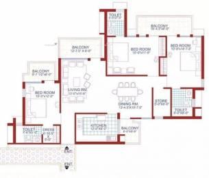 1773 sqft, 3 bhk Apartment in AWHO Sispal Vihar Sector 49, Gurgaon at Rs. 1.4000 Cr