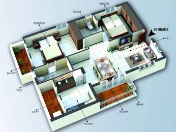 1085 sqft, 2 bhk Apartment in Builder NRK Lotus Anagha Avinashi Road, Coimbatore at Rs. 61.0000 Lacs