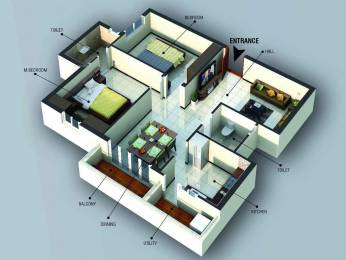 1090 sqft, 2 bhk Apartment in Builder Lotus Anagha Avinashi Road, Coimbatore at Rs. 61.0000 Lacs