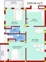 1030 sqft, 2 bhk Apartment in SBA Ayushi Peelamedu, Coimbatore at Rs. 49.3500 Lacs